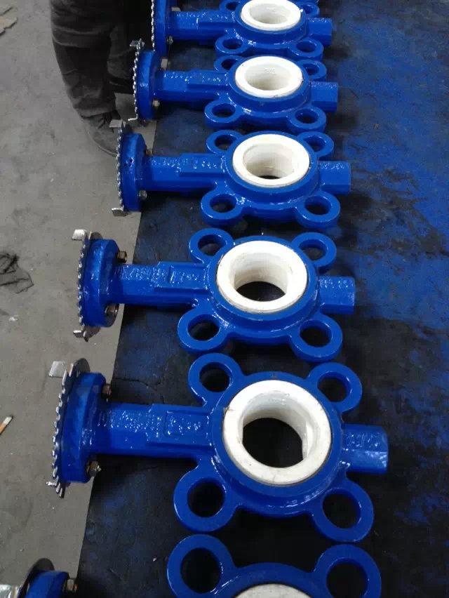 铸铁衬氟阀门法兰安装及焊接工艺要求