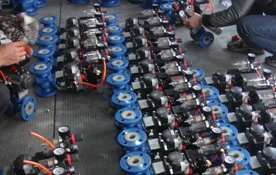 气动球阀安装前、安装时需要注意的事项有哪些?